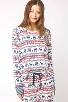 PJ Salvage Moose Fleece Top