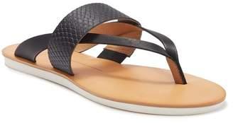 Dolce Vita Nia Snake Embossed Sport Thong Sandal