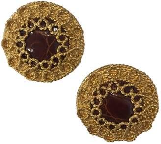 Loewe Gold Metal Earrings