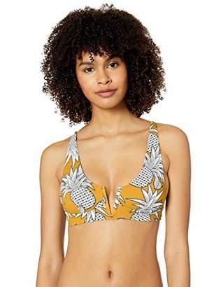 Rip Curl Junior's Lost in Love Deep V Tri Bikini Top Swim Suit,XS
