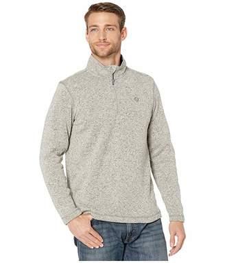 Wrangler George Strait Long Sleeve 1/4 Zip Pullover Knit