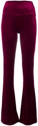 Norma Kamali boot cut trousers