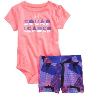 Under Armour Squad Leader Bodysuit & Shorts Set