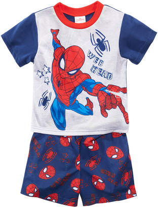 Spiderman Marvel's 2-Pc. Graphic-Print Pajama Set, Toddler Boys