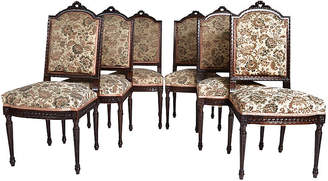 One Kings Lane Vintage French Louis XVI-Style Chairs - Set of 6 - LR Antiques
