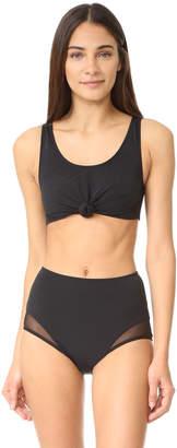 Beth Richards Knot Top Bikini Top $130 thestylecure.com