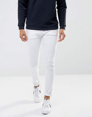 WÅVEN Super Skinny Spray on Jeans in White