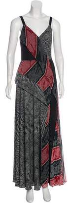 Adeam Printed Maxi Dress