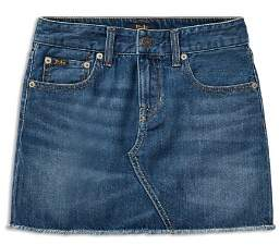 Ralph Lauren Girls' Denim Skirt - Big Kid