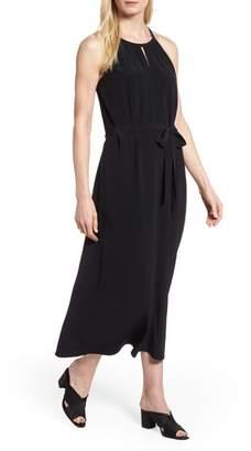 Eileen Fisher Tencel(R) Lyocell Blend Midi Dress