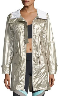 Under Armour Misty Metallic Anorak Jacket $169.99 thestylecure.com