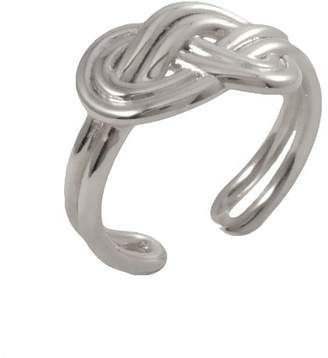 """MARIE JUNE""""¢ Jewelry - Figure 8 Knot Silver Ring"""