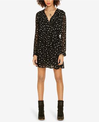 Denim & Supply Ralph Lauren Star-Print Sheer Dress $125 thestylecure.com