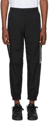 adidas Black Lock Up Logo Track Pants