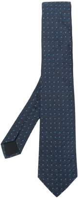 HUGO BOSS patterned tie