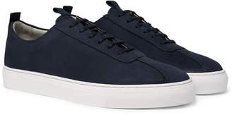 Grenson Nubuck Sneakers - Men - Blue