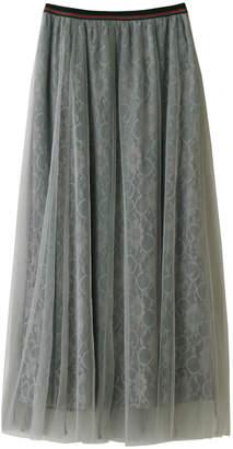 Aula (アウラ) - アウラ レースチュールレイヤードスカート
