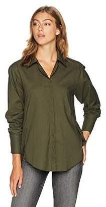 Paige Women's Clemence Shirt with French Cuff