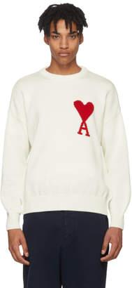 Ami Alexandre Mattiussi Off-White Oversized Sweater