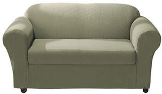 Sure Fit Spencer Two-Piece Stretch Sofa Slipcover