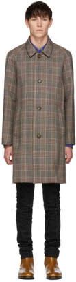 John Elliott Grey Wool Trench Coat