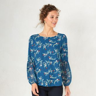 Disney's Snow White A Collection by LC Lauren Conrad Peasant Top - Women's $48 thestylecure.com