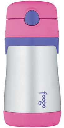 Thermos BS535PK003 Stainless Steel Sippy Bottle With Straw, 10oz