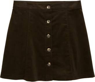 Walking on Sunshine Corduroy Skirt