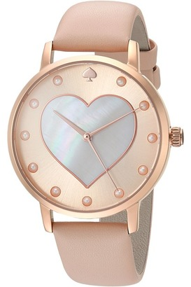Kate Spade New York - Vachetta Heart Metro - KSW1254 Watches $195 thestylecure.com