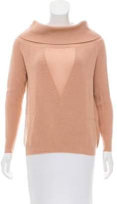 Cushnie et Ochs Wool Off-The-Shoulder Sweater