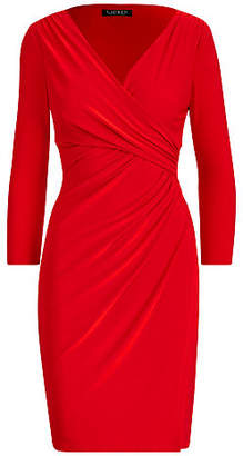 Ralph Lauren Ruched Jersey Dress