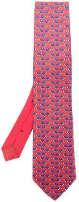 Etro tortoise print tie