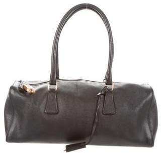 Prada Saffiano Sport Bowler Bag