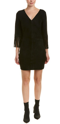 Diane von Furstenberg AS by As By Jolene Suede Sheath Dress