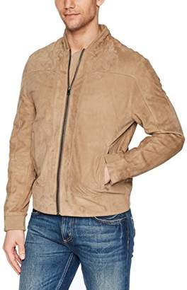 Robert Graham Men's Ramos Suede Bomber Jacket