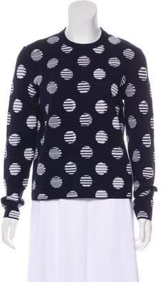 Kenzo Intarsia Polka Dot Sweater