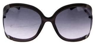Jimmy Choo Beatrix Oversize Sunglasses