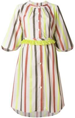 Tsumori Chisato striped button dress