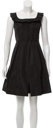 Miu Miu Sleeveless A-Line Dress