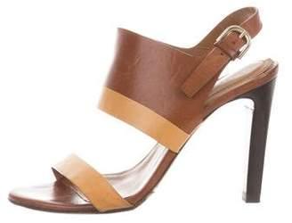 Chloé Leather Open-Toe Sandals