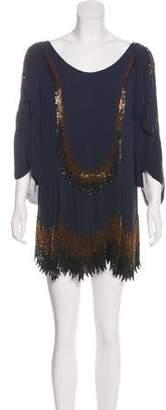3.1 Phillip Lim Silk Sequin Mini Dress