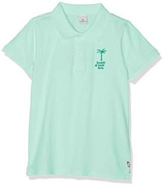 Scotch & Soda Shrunk Boy's Garment Dyed Polo in Jersey Quality Shirt,(Size: 4)