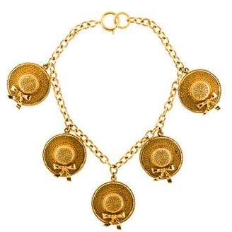 Chanel Hat Station Necklace