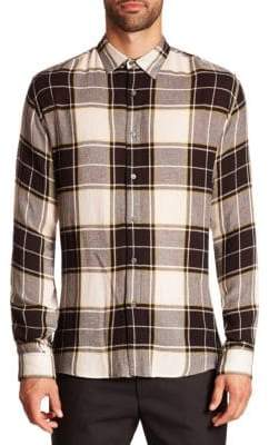 G Star Plaid Wool Blend Shirt