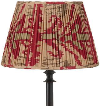 OKA 25cm Pleated Madura Silk Empire Lampshade