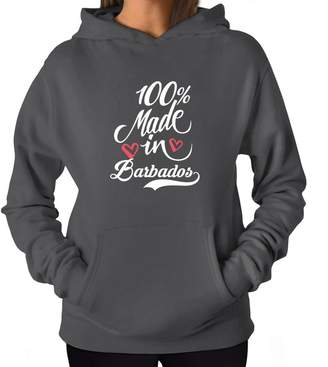 Site Athletics 100 made in Barbados 2 Women Hoodie