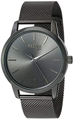 Steve Madden Men's SMMW002BK Analog Display Japanese Quartz Watch