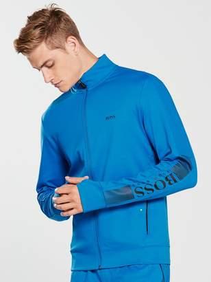 BOSS Zip Tech Track Top -Cobalt Blue
