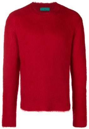 Paura plain knit sweater