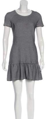 Opening Ceremony Short Sleeve Mini Dress Black Short Sleeve Mini Dress